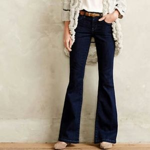 Pilcro and the Letterpress Stet Fit Flare Jeans